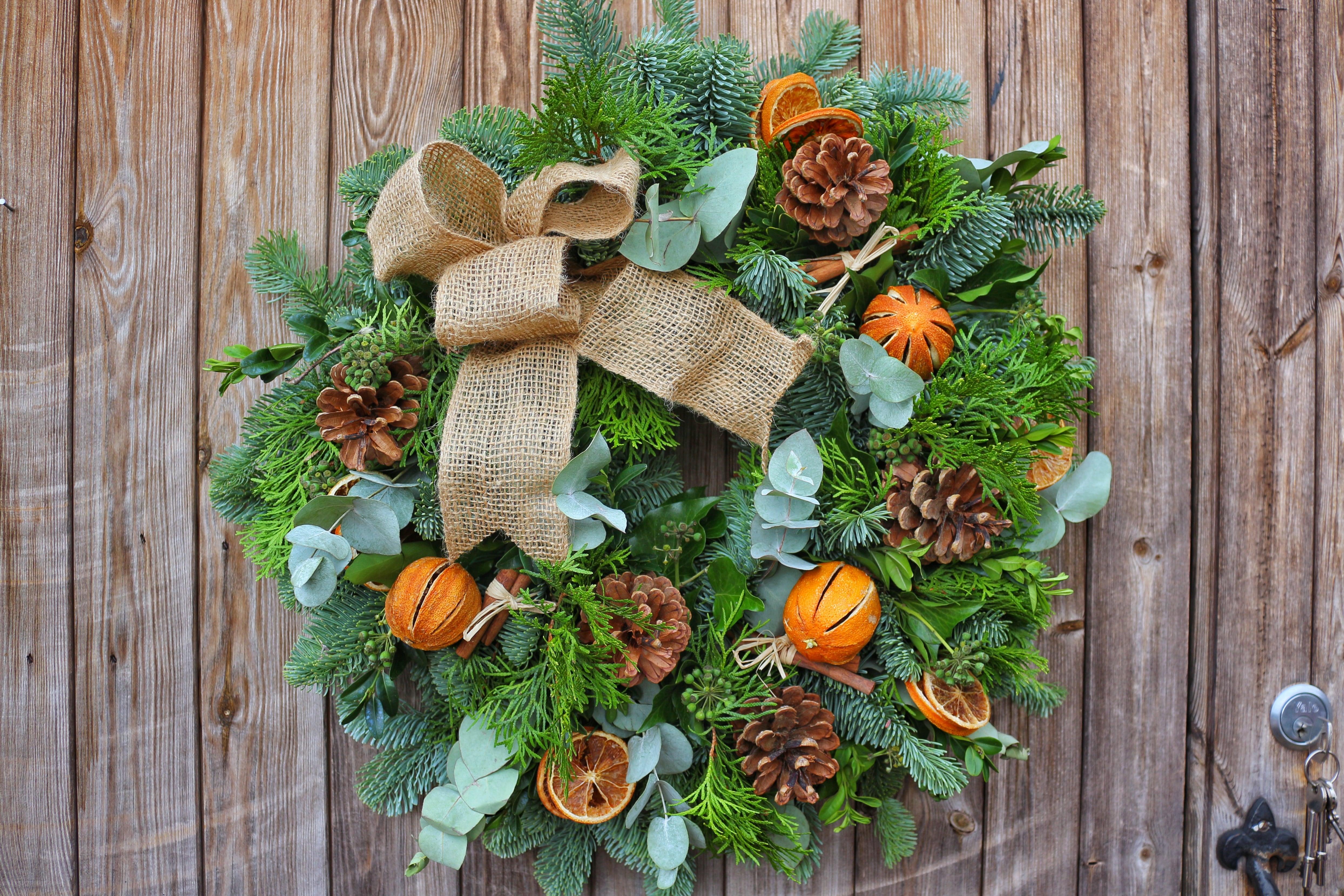 Christmas Wreath.Diy Christmas Wreath Kit