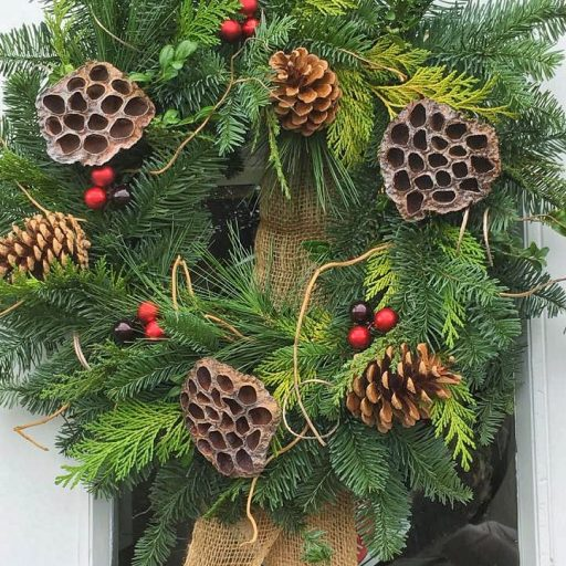 Eco Woodland Wreath