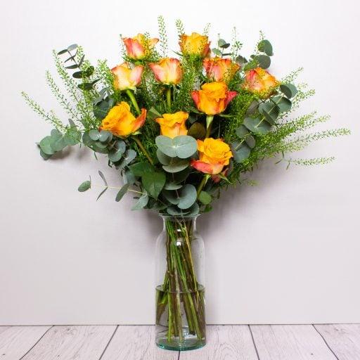 Roses – Orange Glow