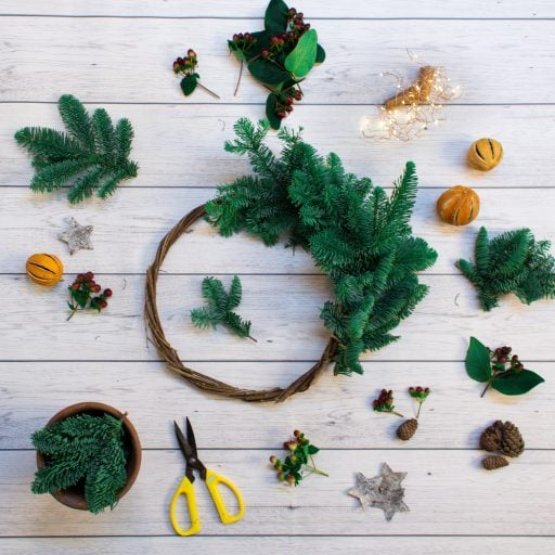 DIY Eco Christmas Wreath Kit
