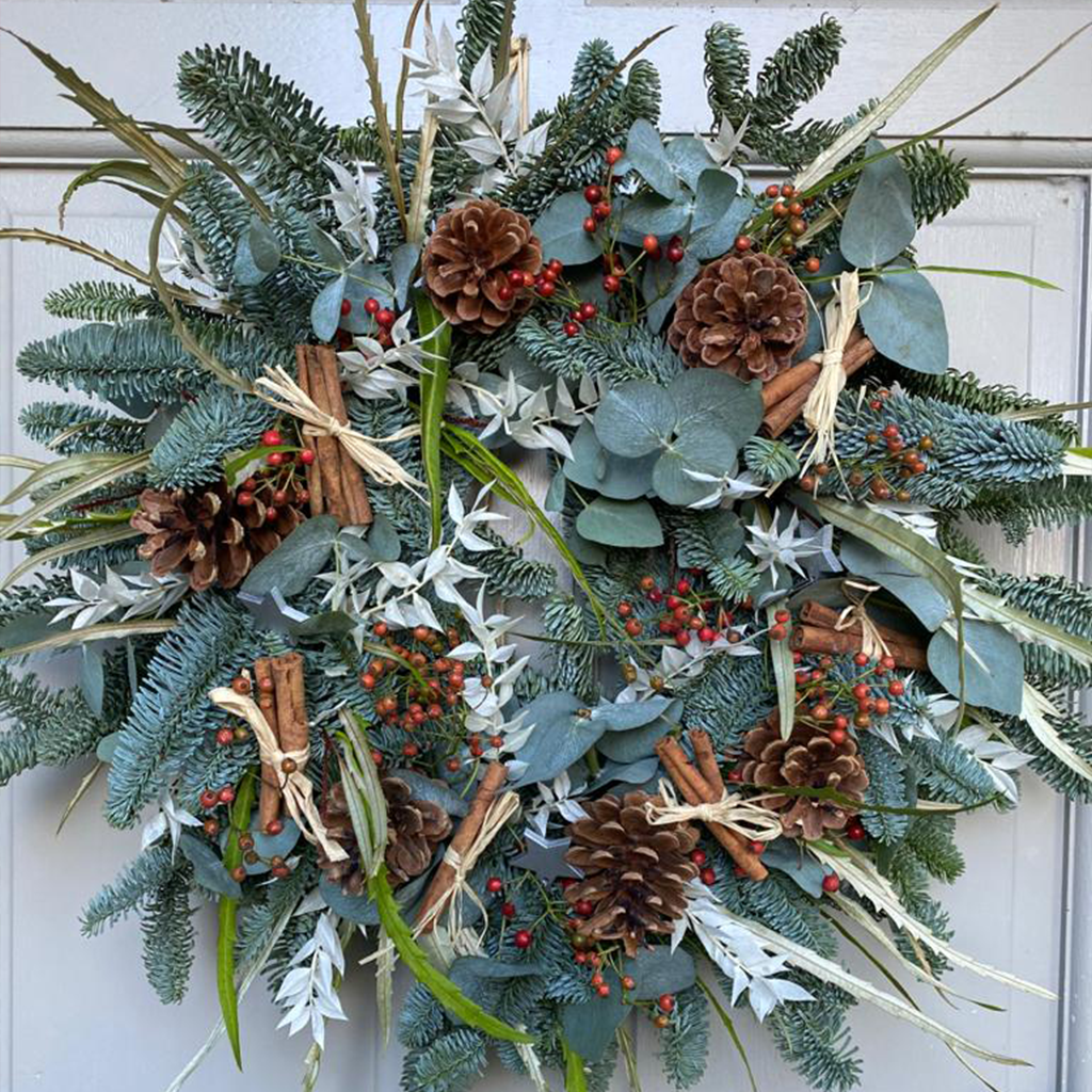 Cinnamon Delight Wreath