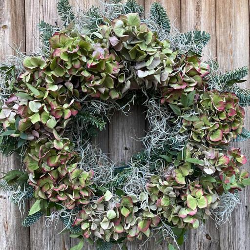 Hydrangea Bliss Wreath